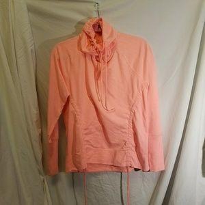 LUCY Orange Sweatshirt, size Large
